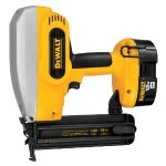 Dewalt DC608K Cordless Brad Nailer Review