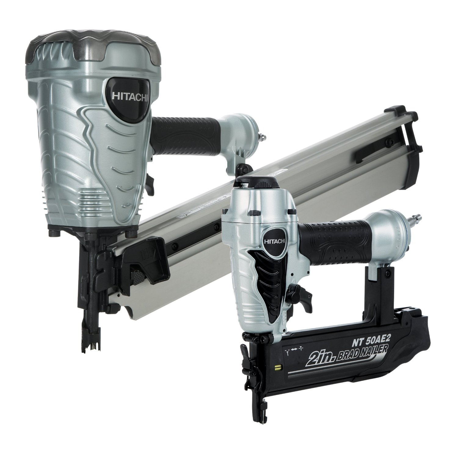 Hitachi KNR9050A framing/brad nailer combo kit